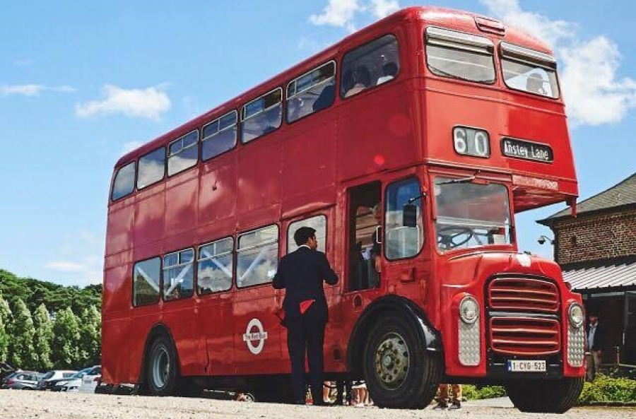 Bus anglais - Voiture Mariage