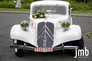 Citroën Traction 11 blanche
