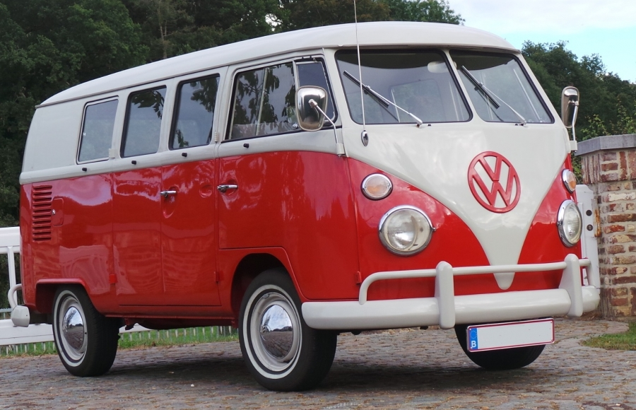 voiture de mariage location de voiture de mariage combi vw t1 rouge et blanc 1965. Black Bedroom Furniture Sets. Home Design Ideas
